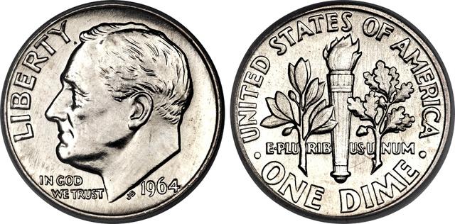 1946 FDR Dime