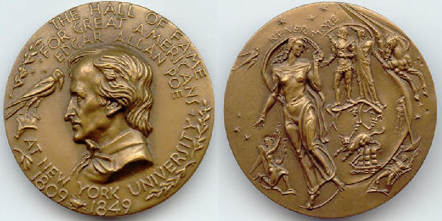 Poe HOF Medal