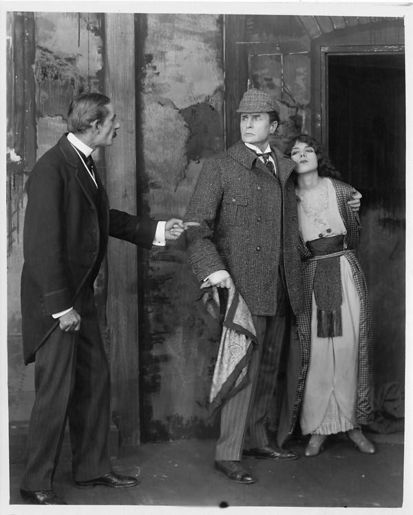 William Gillette in Sherlock Holmes