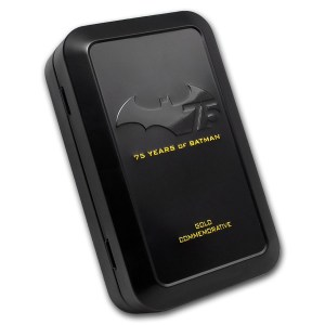 Niue Batman Gold Case