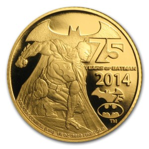 Niue Batman Gold Reverse