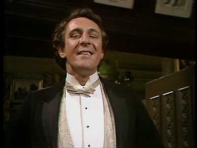 Max Carrados portrayed by Robert Stephens in The Rivals of Sherlock Holmes