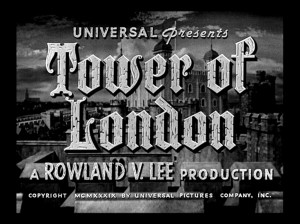 Tower of London Title
