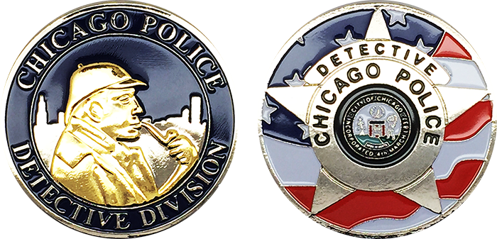 Chicago PD Challenge Coin