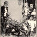 The April 4, 1925 Philadelphia Evening Bulletin Featuring The Three Garridebs