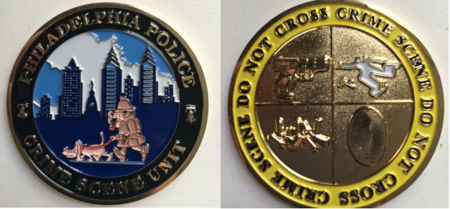Phlly PD Challenge Coin