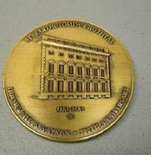 holmes watson medal reverse a