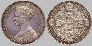 1847 crown