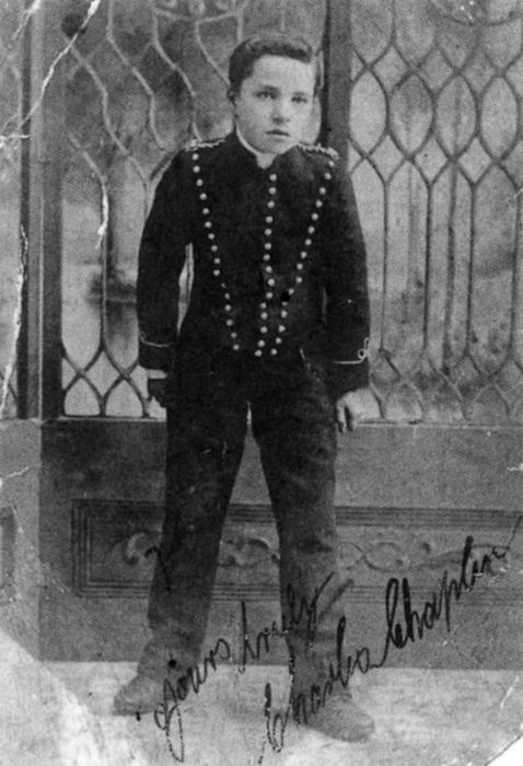charlie chaplin boy