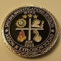 NYPD Arson & Explosion Squad Issue Sherlockian Themed Challenge Coin
