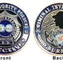 NY/NJ Port Authority Police Issue Sherlockian Challenge Coin