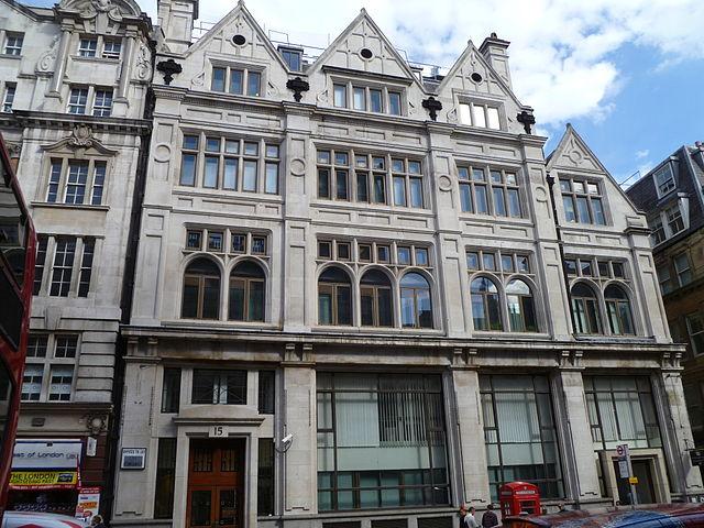 Former Cox & Co. Headquarters, 16-18 Charing Cross (Wikipedia - 2012)