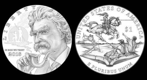 2016 Twain $1