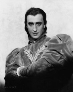 Basil Rathbone as Romeo