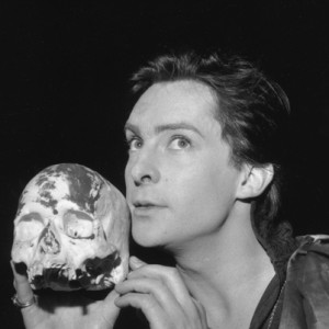 Jeremy Brett in a Strand Theatre production of Hamlet (1961)