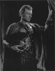 John Gielgud as Julius Caesar - 1953