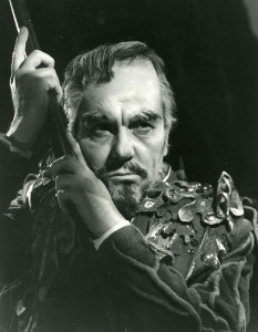 Ralph Richardson as Prospero