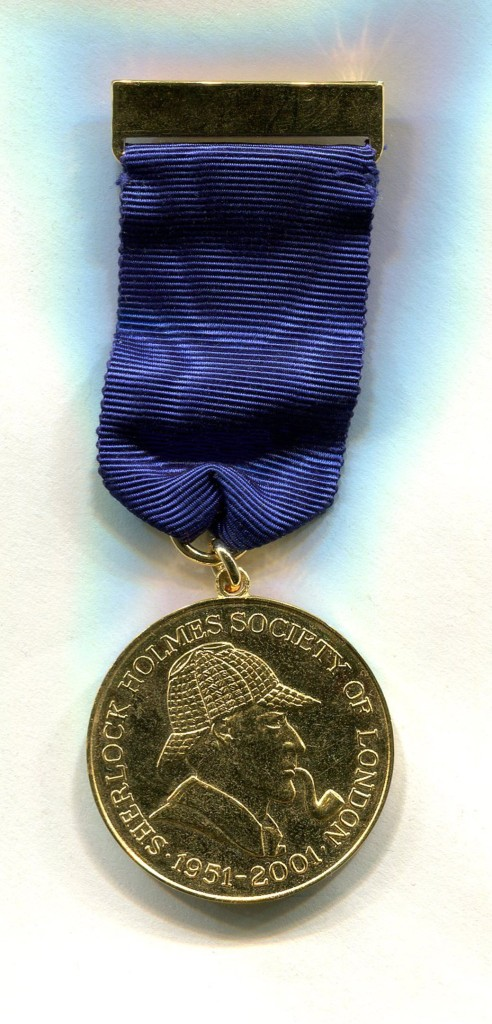 2001 SHSL 50th Anniversary Medal ~Photo by Roger Johnson