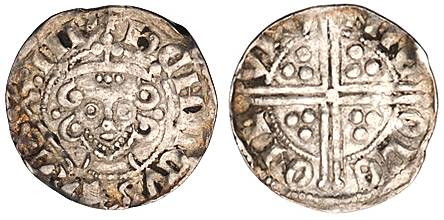 "Penny with ""Long"" Cross. Henry III. 1247-72"
