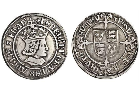 Testoon. Henry VII