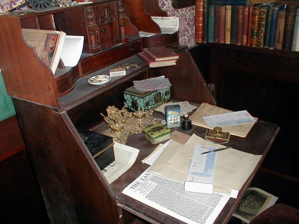 Dr. Watson's Desk ~ 221B in Reading