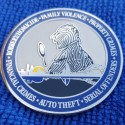 Corpus Christi Police Issue Challenge Coin With Sherlockian Design