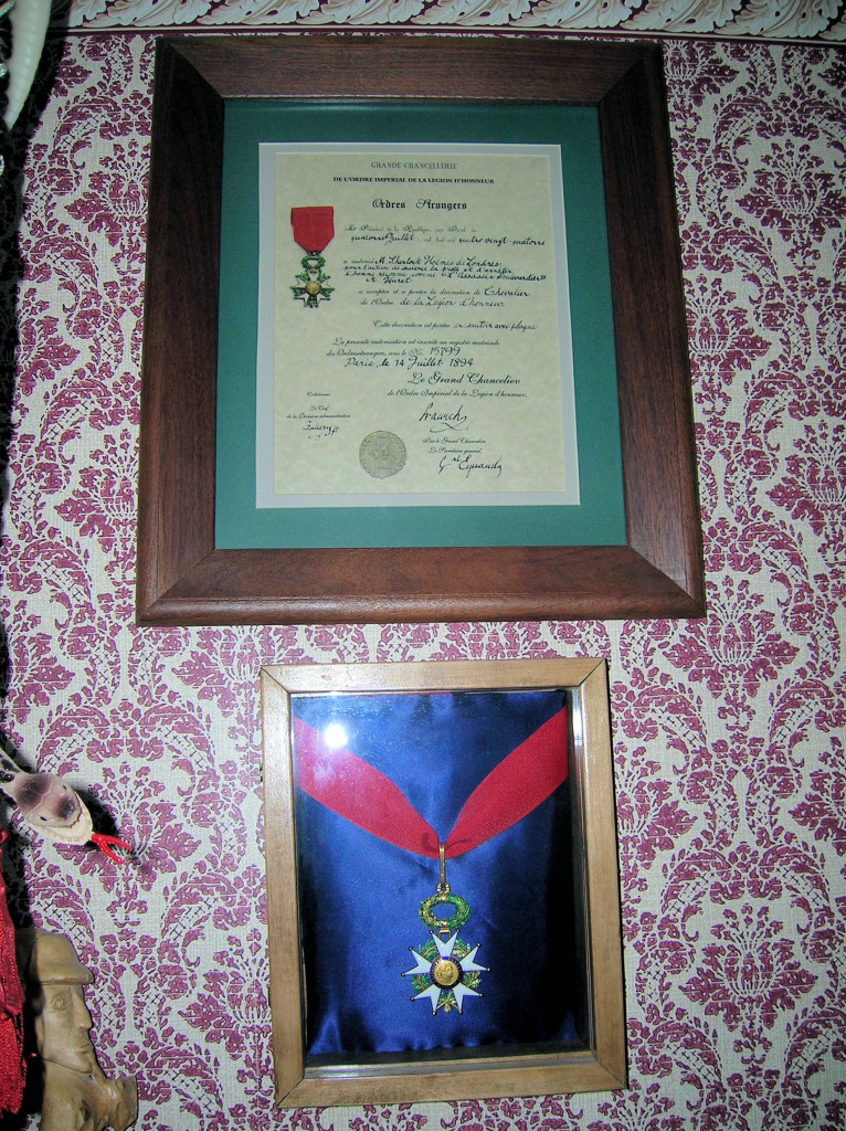 Holmes' Legion of Honour and
