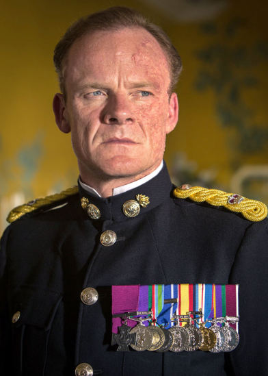 the decorated major sholto the fourth garrideb