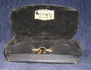 John Openshaw's Pince-Nez (the very one!) ~ WTB FIVE Evidence Box