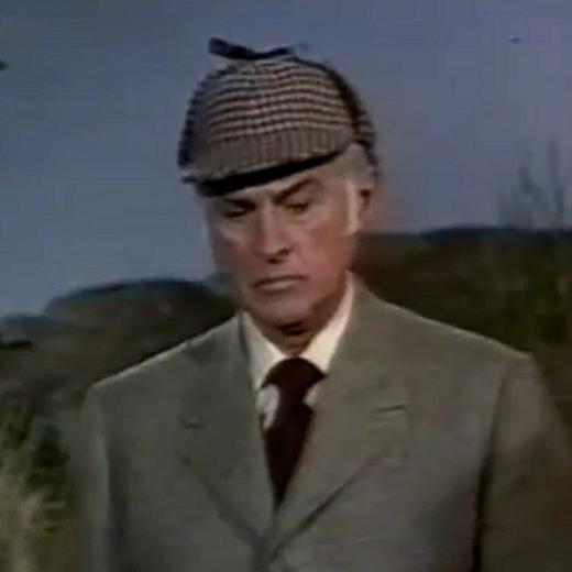 Granger as Holmes