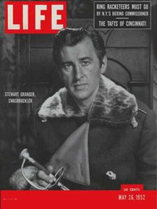 Stewart Granger on the cover of the May 26, 1952 issue of LIFE