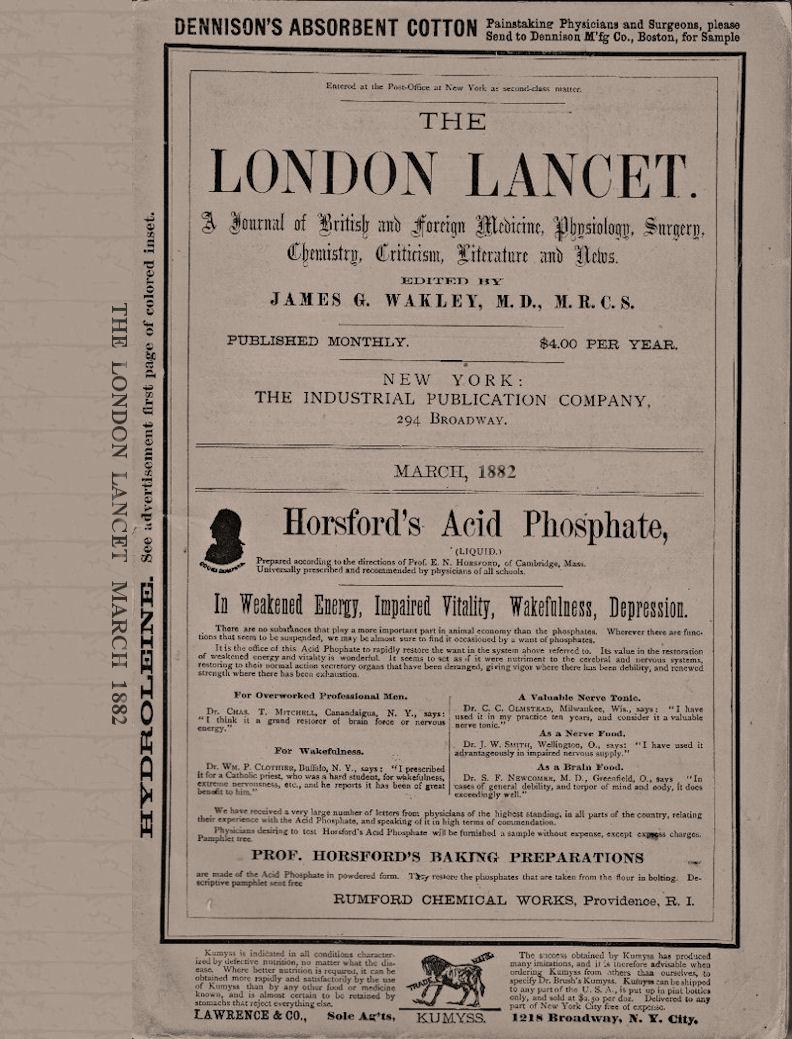 "Author of ""Some Freaks of Atavism"" (Lancet, 1882) ~ WTB HOUN Evidence Box"