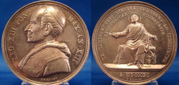 Leo 1890 Medal
