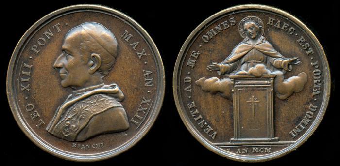 Leo 1900 Medal