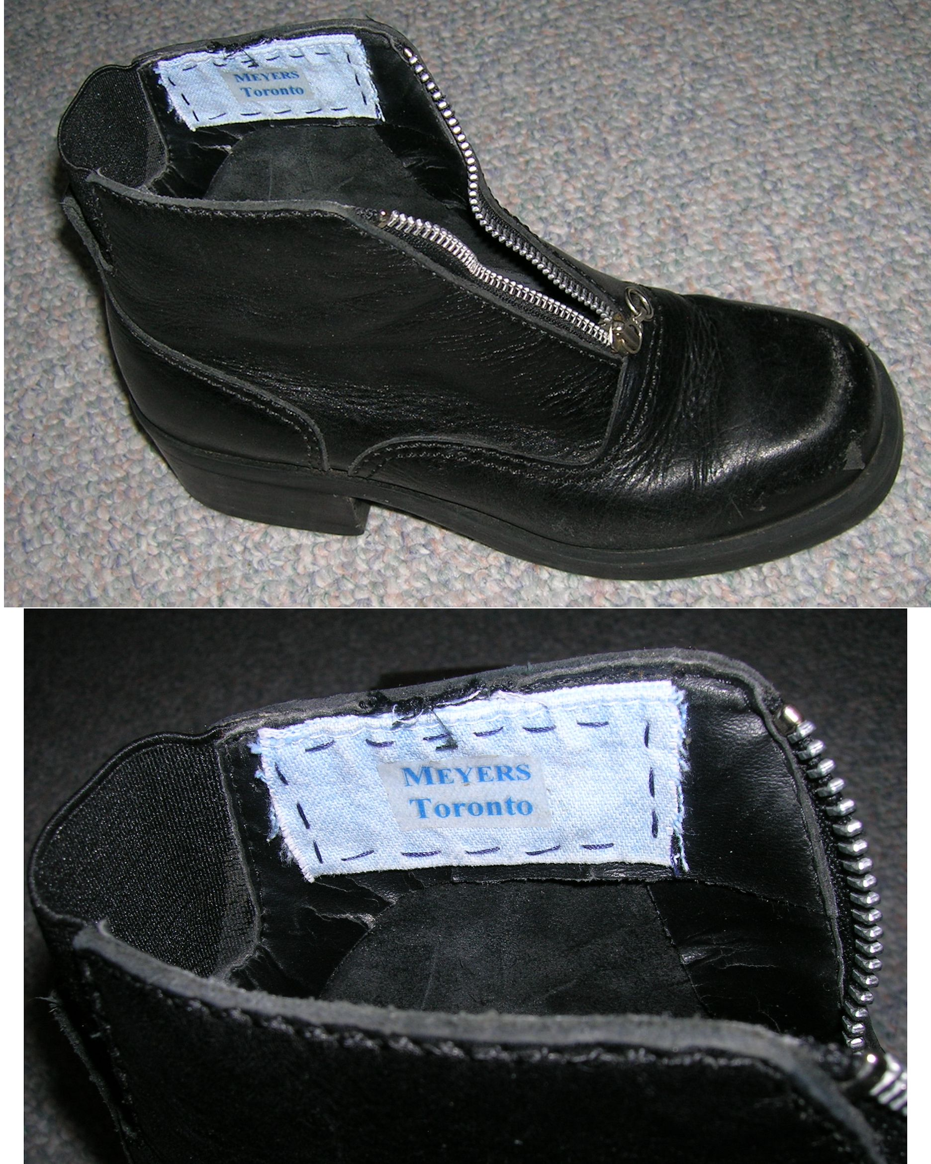 ... we had a line of inexplicable incidents all within the limits of two days, which included the receipt of the printed letter, the black-bearded spy in the hansom, the loss of the new brown boot, the loss of the old black boot, and now the return of the new brown boot. ~ WTB HOUN Evidence Box