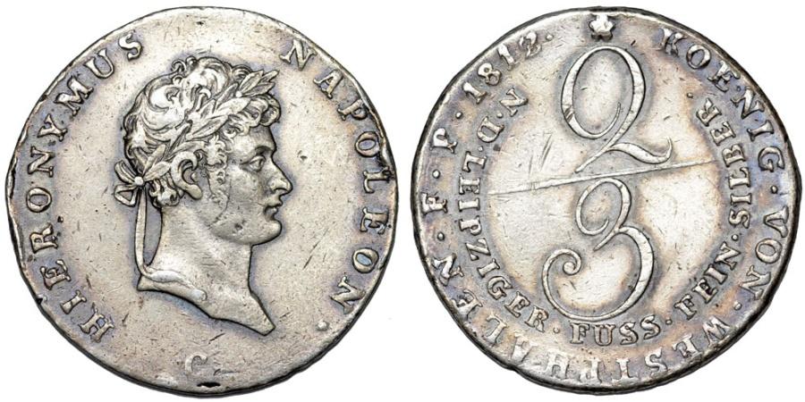 westphalia-1812-2-3-thaler