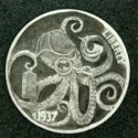 The Sherlocktopus 1937 Hobo Nickel