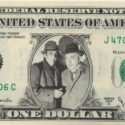 The Rathbone & Bruce Personality Dollar Bills