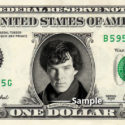Three Varieties of Benedict Cumberbatch Personality Dollars