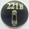 The BBC Sherlock Challenge Coin by Commissioned Credentials