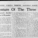 The Winnipeg Evening Tribune Publishes The Three Garridebs on March 21, 1925